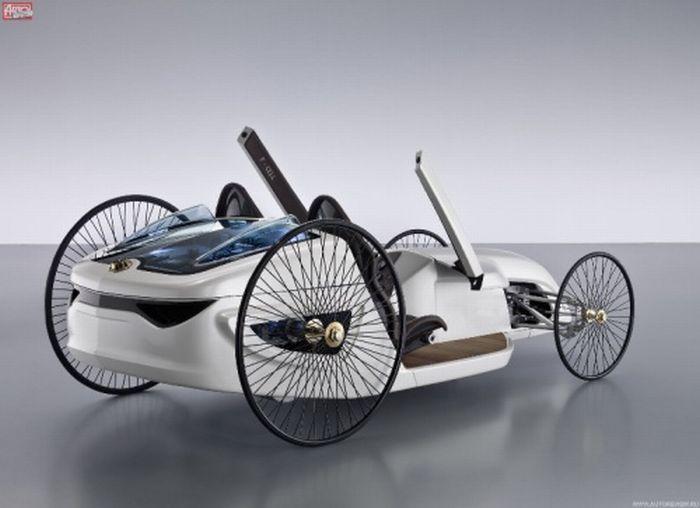 Mercedes-Benz F-CELL Roadster (14 pics)