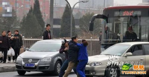 Road Rage in China (10 pics)