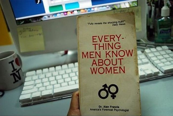 Everything Men Know About Women (2 pics)