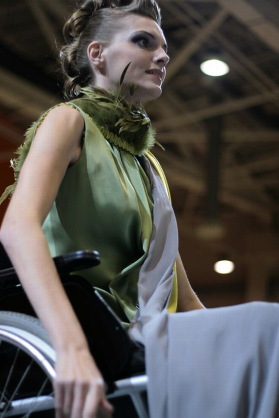 Fashion Show for Disabled People (34 pics)