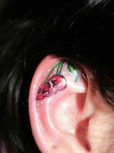 Ear Tattoos (15 pics)