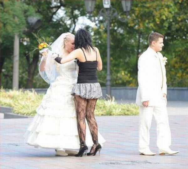 Funny Wedding Pictures (100 pics)