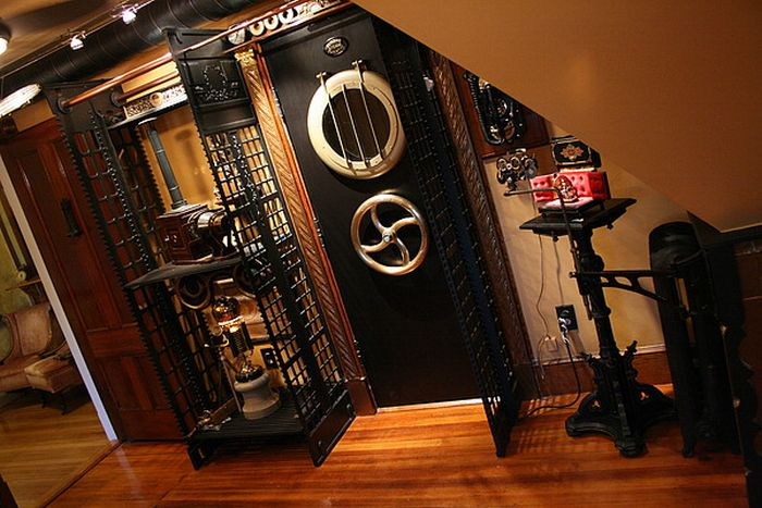 Amazing Steampunk House (23 pics)