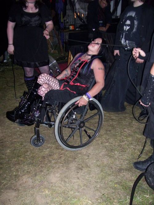 Funny People at a Goth Party (12 pics)