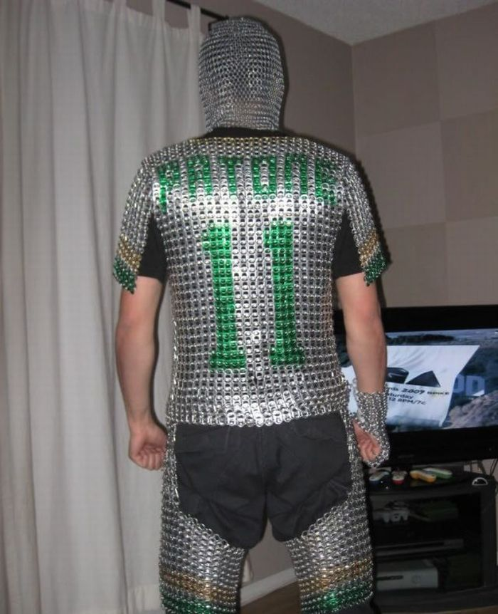 Self-Made Chain Mail (5 pics)