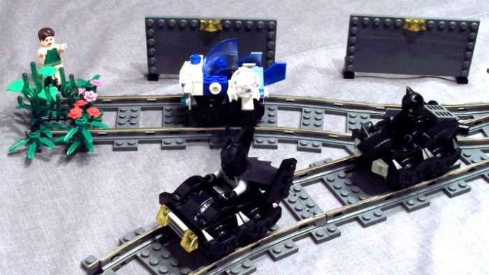 Gotham City Subway Racers (11 pics)