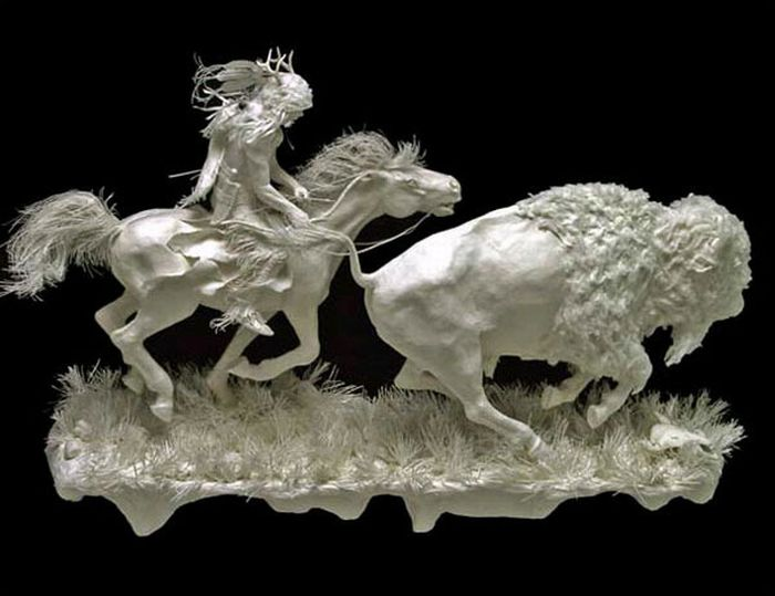 Amazing Paper Sculptures (16 pics)