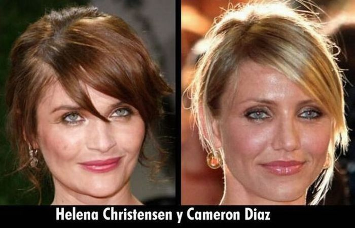 Celebrities That Look Like Other Celebrities. Part 2 (13 pics)