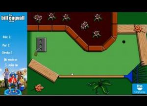 Backyard Mini Golf