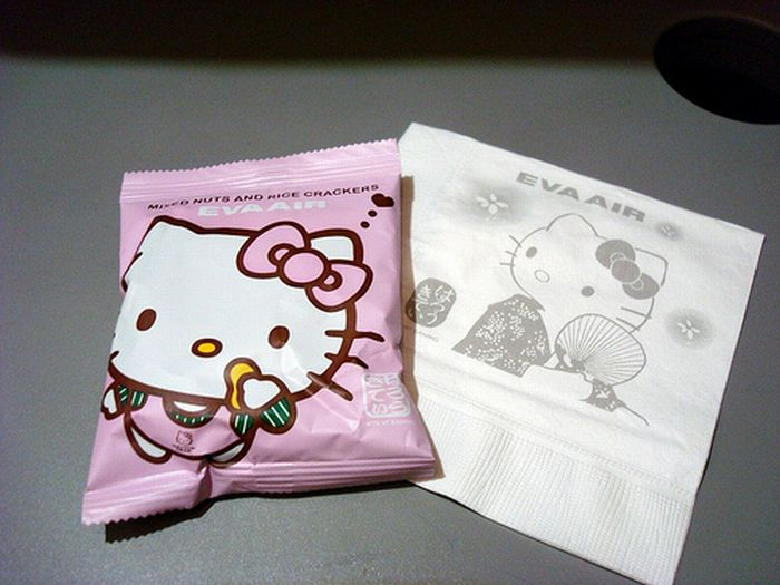 Hello Kitty Plane (9 pics)
