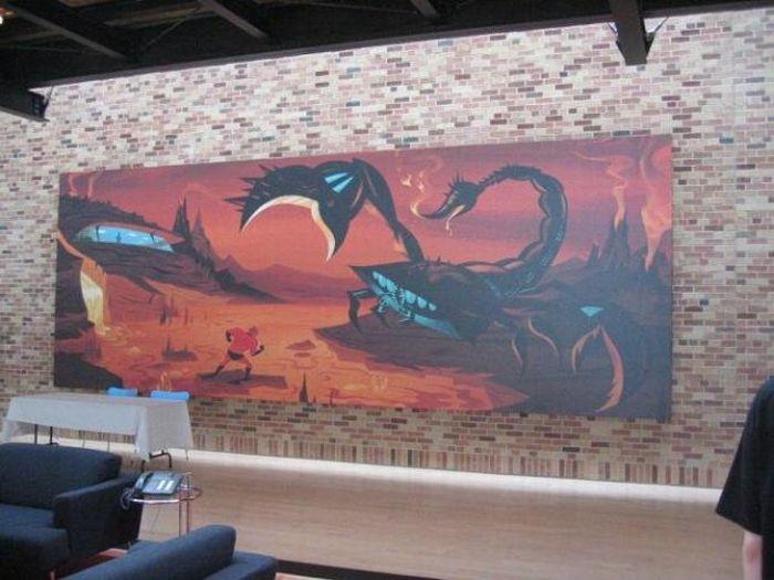 Inside Pixar Studio (45 pics)