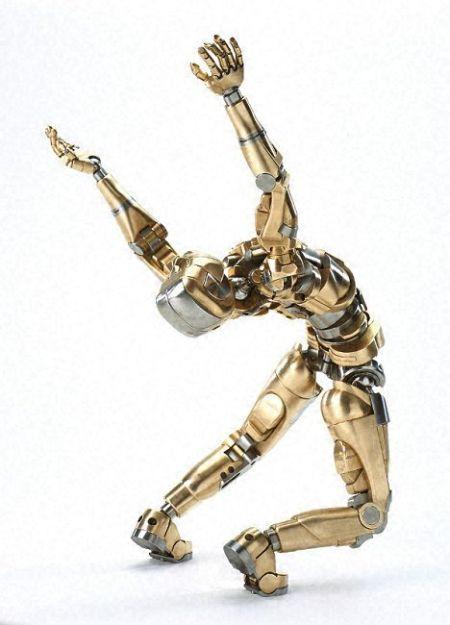 Metal Man Artform No. 1 (34 pics)