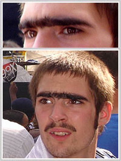 People with Monobrows (27 pics)