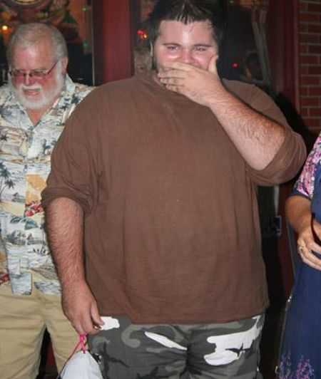 Fat Man Becomes Thin (10 pics)