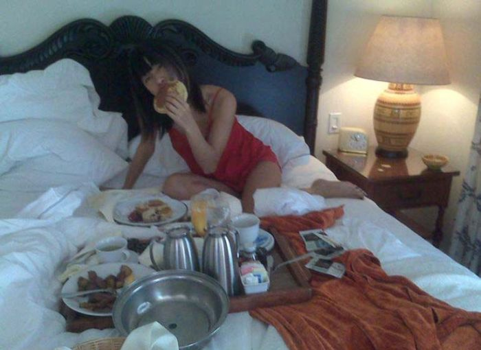 Photos from the Private Album of Bai Ling (103 pics)