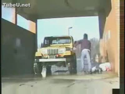 Car Wash Goes Horribly Wrong