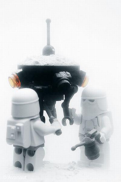 Star Wars. Winter Edition (11 pics)