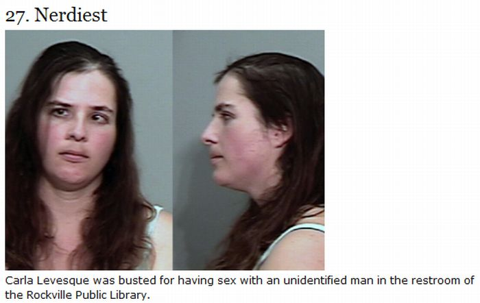 The Most Memorable Mug Shots Of 2009 (30 pics)