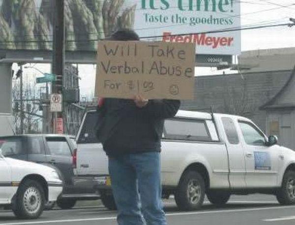 Unusual Begging Methods (19 pics)