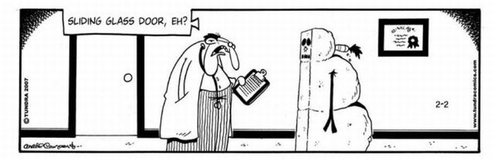 Funny Snowmen Comics (13 pics)