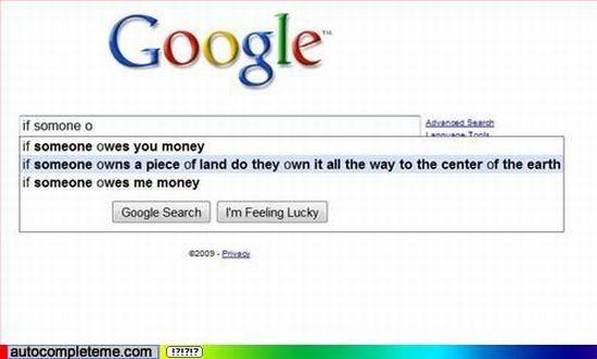 The funniest Google Suggest Screenshots. Part 4 (50 pics)