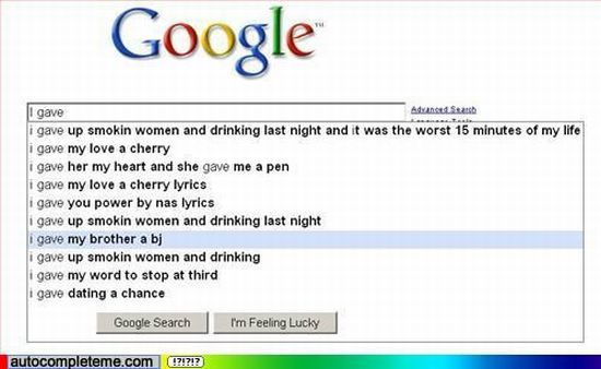 The funniest Google Suggest Screenshots. Part 4 (50 pics)