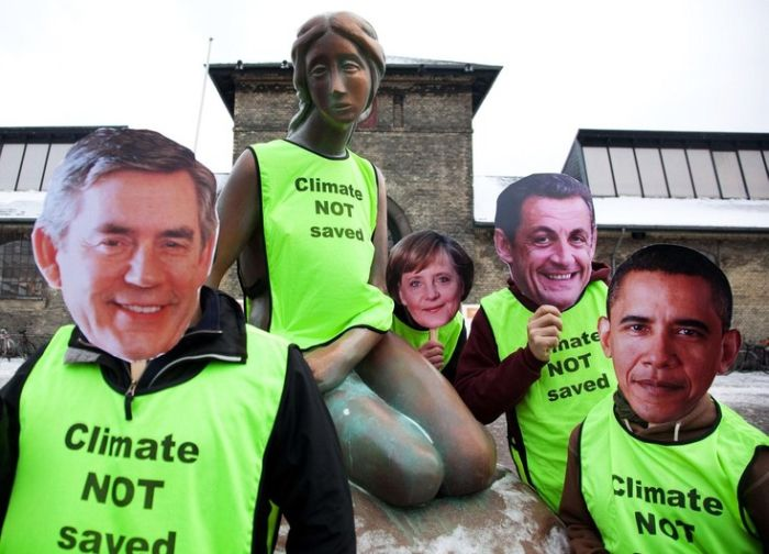 Why Climate Change Conference wasn't very successful (7 pics)