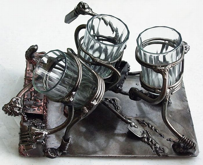 Amazing Hand-Made Metal Presents (85 pics)
