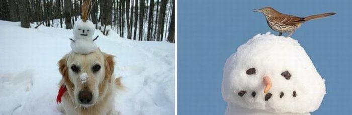 Snowmen (28 pics)