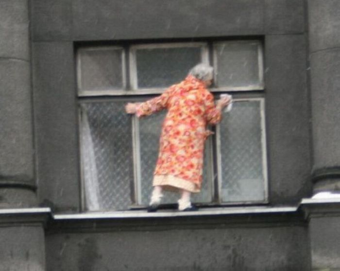 Crazy Grandma (4 pics)