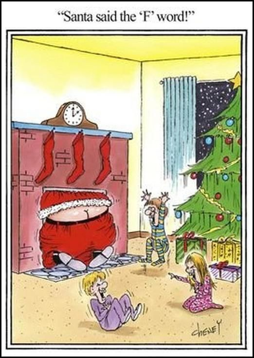 Share a funny Christmas cartoon or photo Funny Adults Cartoon Image