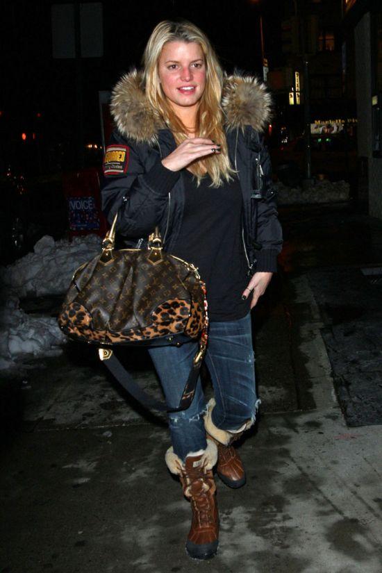 Jessica Simpson sans make-up (8 pics)