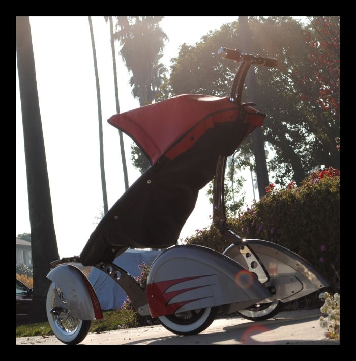 Roddler - the Coolest Stroller in the World (27 pics)