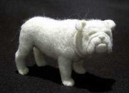 Wool Sculptures (8 pics)