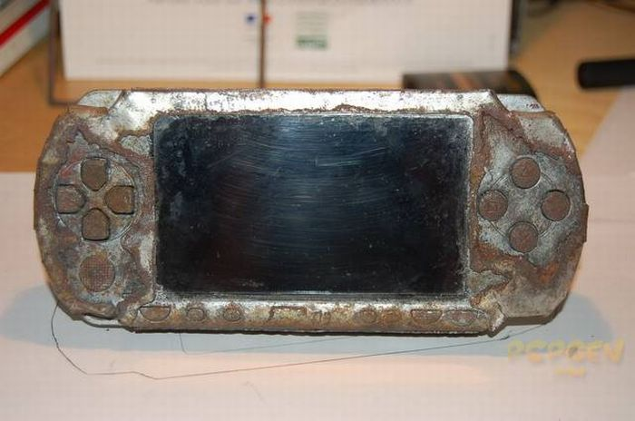 Steampunk PSP (11 pics + 2 video)