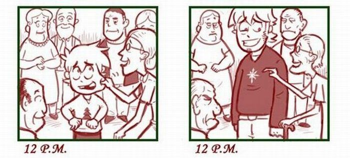 Christmas: Then and Now (7 pics)
