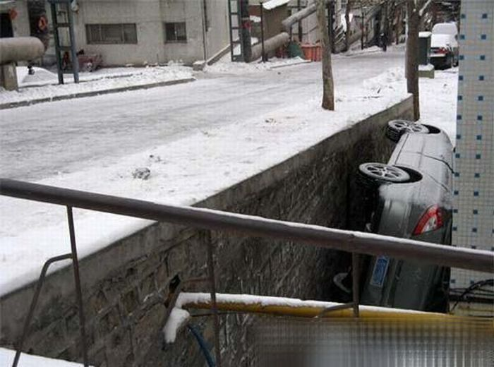 Unsuccessful parking (5 pics)