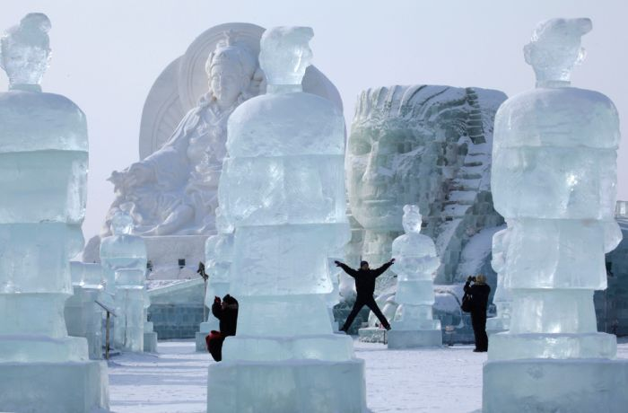 Ice Festival in China (27 pics)