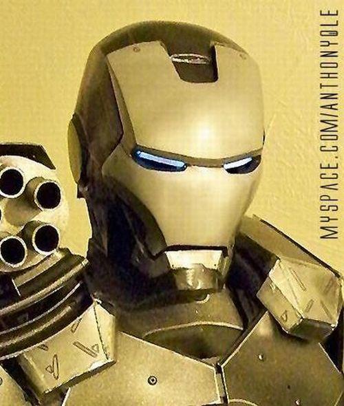 Iron man, hecho a mano...!