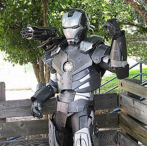 disfraz de iron man