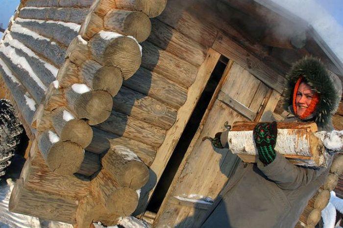 Mobile Sauna (6 pics)