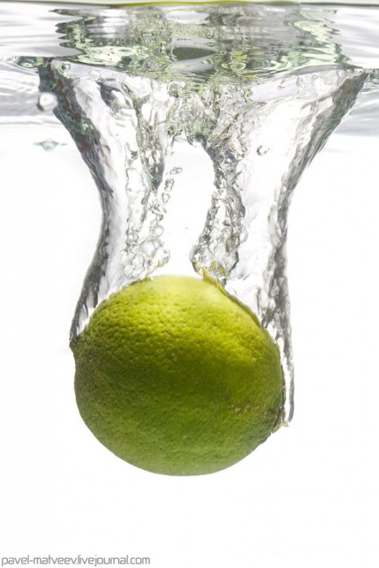 Splashes of water (17 pics)