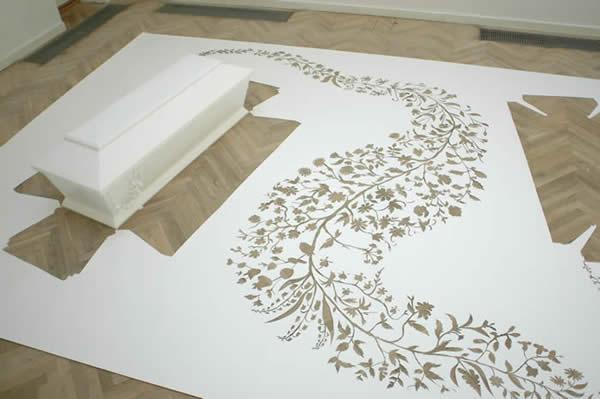 Бумажное искусство Jen Stark (13 фотографий).  4. 3. 2. 1. Удивительное...