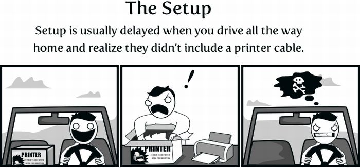 Why I Believe Printers Were Sent From Hell to Make Us Miserable (13 pics)