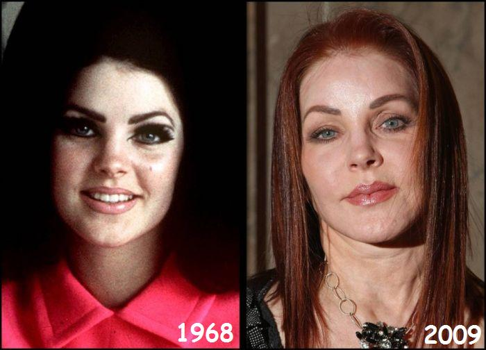 Celebrities. Then and Now (28 pics)