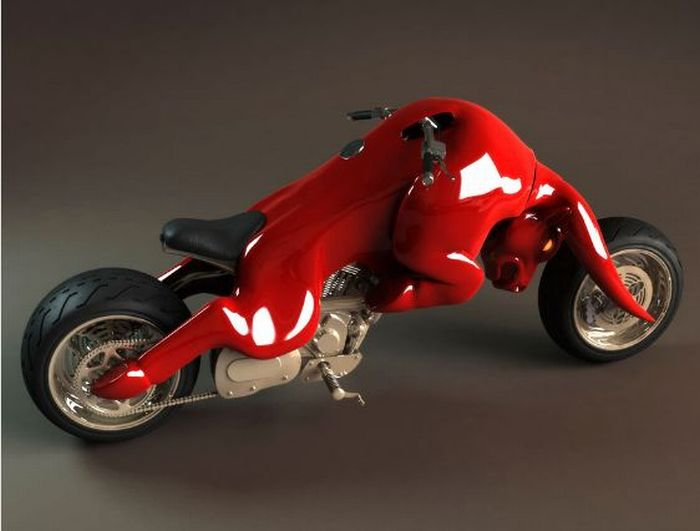 Astonishing motorcycles (5 pics)