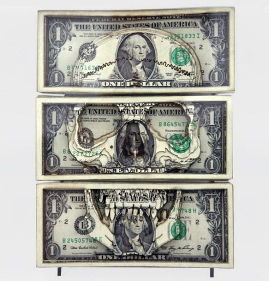 Amazing One Dollar Art (17 pics)