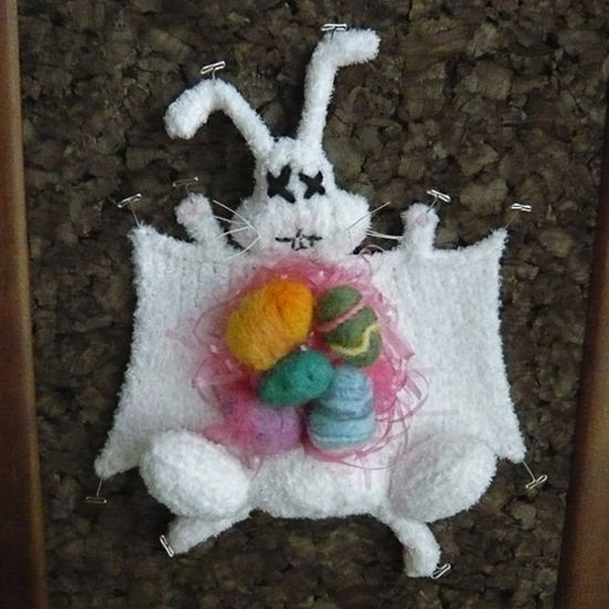Knitted Dissected Animals (9 pics)