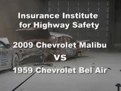 1959 Chevrolet Bel Air VS. 2009 Chevrolet Malibu
