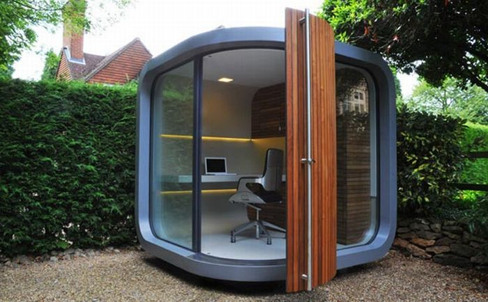 OfficePOD. For those who work at home (7 pics)